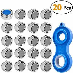 15 Perlator Strahlregler M24 Wasserhahn Sieb Einsatz Mischdüse Perlatoren Wasser