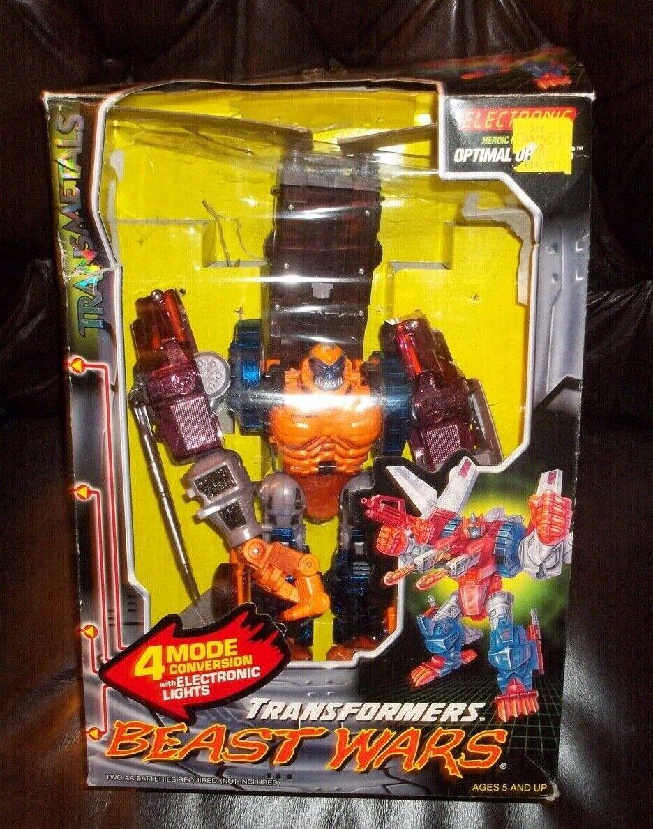 ¡No dudes! ¡Compra ahora! Transformers Beast Beast Beast Wars Optimus Primal figura Transmetals 2 óptima  estar en gran demanda