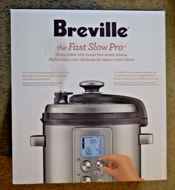 Breville Fast Slow Pro Pressure Cooker BPR700BSS