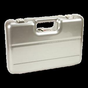 Maleta pistolas con cerradura de combinación acero inoxidable Design armas maleta con cierre