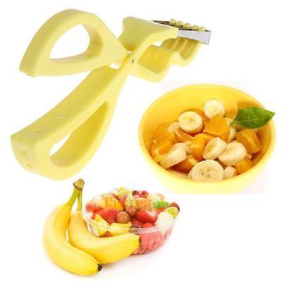 Banana Slicer Cutter Chopper Fruit Cucumber Vegetable Kitchen Gadgets Scissors