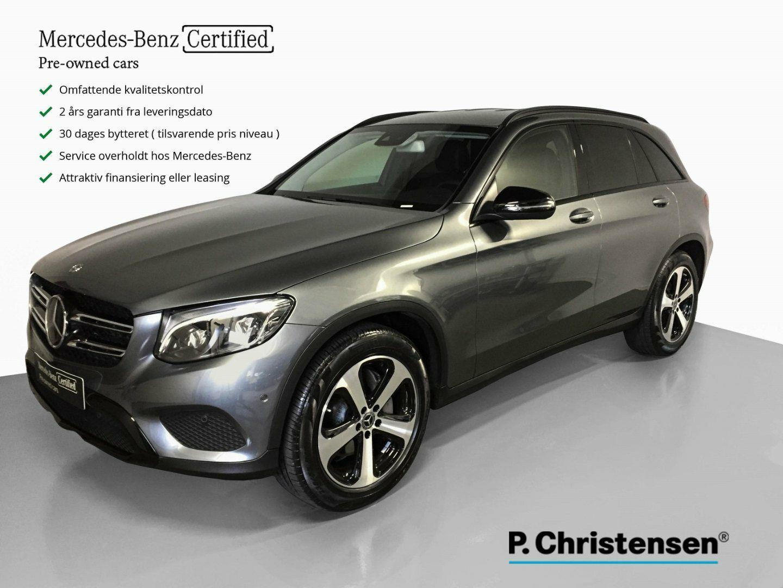 Mercedes GLC250 d 2,2 aut. 4-M 5d - 729.900 kr.