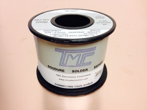 """SOLDER SN63PB37 .020/"""" 0.5mm Solder Wire 0.44 LB  24-6337-20TMC MADE IN TAIWAN"""