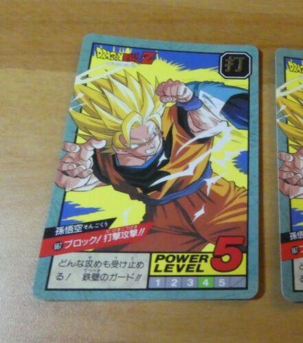 DRAGON BALL Z DBZ SUPER BATTLE POWER PART 16 CARDDASS CARD CARTE 667 JAPAN NM