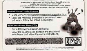 WoW-BlizzCon-2007-LOOT-Card-Murloc-Suit-Costume-Kostum-Toybox