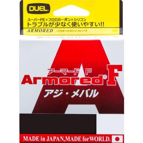 Neuf Duel Blindé F Ajing 150m 4lb #0.2 Laiteux Rose 0.080mm Tresse Ligne Japon