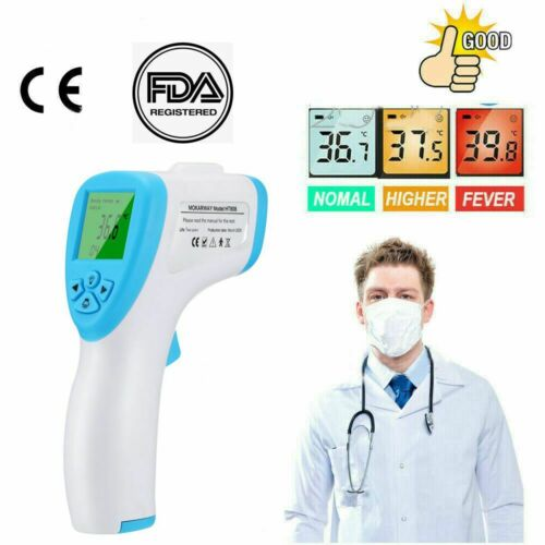 Berührungslose LED digitale IR Infrarot Thermometer Handlaser Temperaturpistole#