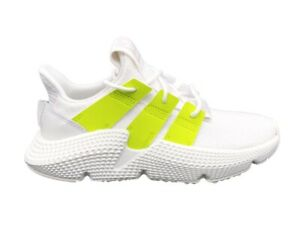 zapatilla adidas blanco y verde