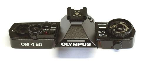 OLYMPUS OM-System  Top Cover OM-4 Ti black  (Ersatzteil)