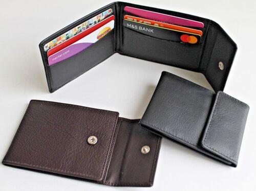 Small Slim Golunski en cuir carte de crédit titulaire noir ou marron