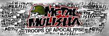 METAL MULISHA DECAL #9  Sticker, Truck Trailer Moto Car Window Wall Art