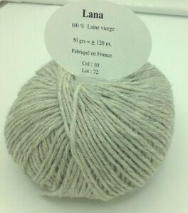 10 pelotes de 100 g 100 /% laine rustique bleu  /_ fabriqué en FRANCE