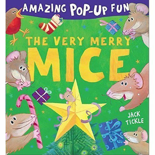 1 of 1 - The Very Merry Mice, Tickle, Jack, New Book