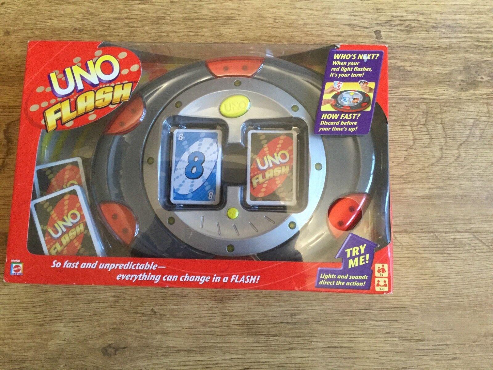 Uno Flash Mattel neuf en boîte très rare