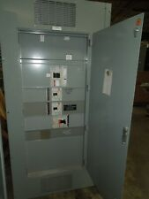 Eaton Pow R Line C Prl4 1200a 3ph 3w 480v Main Breaker Panel With Distribution