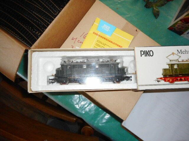 HO Piko - Electric Locomotive - BR244(Green) NEW NIB - Vintage 1987