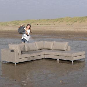 exotan casablanca lounge rechts taupe gartenlounge. Black Bedroom Furniture Sets. Home Design Ideas