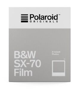 POLAROID-SX-70-B-amp-W-schwarzweiss-SOFORTBILDFILM-Impossible-SX-FILM-SX-70