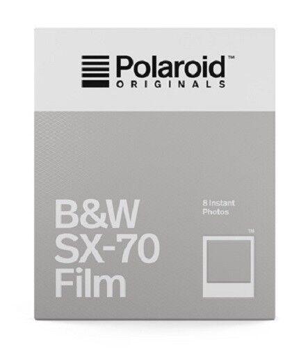 POLAROID SX 70 B&W schwarzweiß SOFORTBILDFILM Impossible SX FILM SX-70