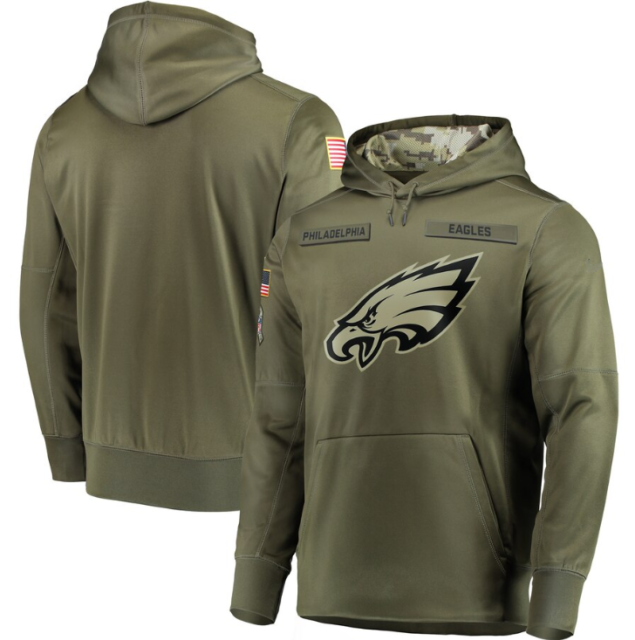 Philadelphia Eagles Men's Nike Olive