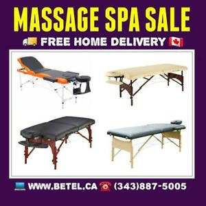 Sale • Portable Mobile Massage Tables  Stools  & Accessories • Table de Massage Spa  • Free Delivery Canada Preview
