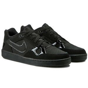 Men s Nike Son Of Force Low Top Sneaker Black Black-Black 616775 005 ... b3826976a86