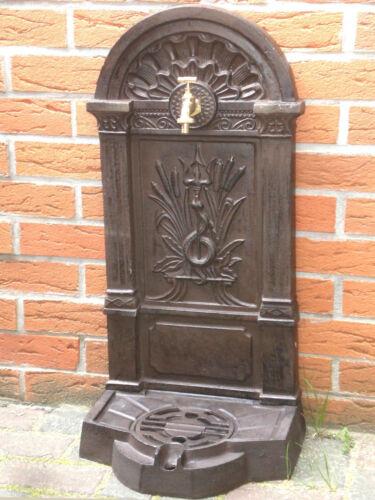 Stand puits 82 cm 26 kg en fonte Jardin Puits schlauchanschluß lavabo