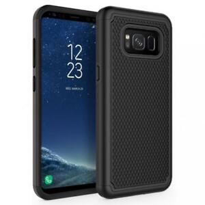 SAMSUNG GALAXY S8 (5.8) - SHOCK-PROOF HYBRID CASE DUAL LAYER DEFENDER COVER