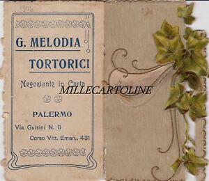 Calendario 1906.Dettagli Su Piccola Agenda Con Calendario 1906 Da Borsetta Palermo G Melodia Tortorici