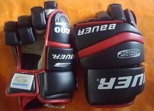"BAUER HG 5000 Hockey Gloves NEW 14"" LOCK THUMB"