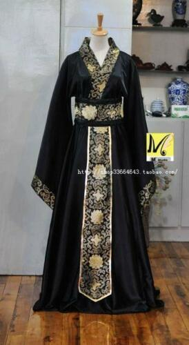 Chinese Vintage Mens Han Clothing Emperor Prince Cosplay Suit Robe Costume Hanfu