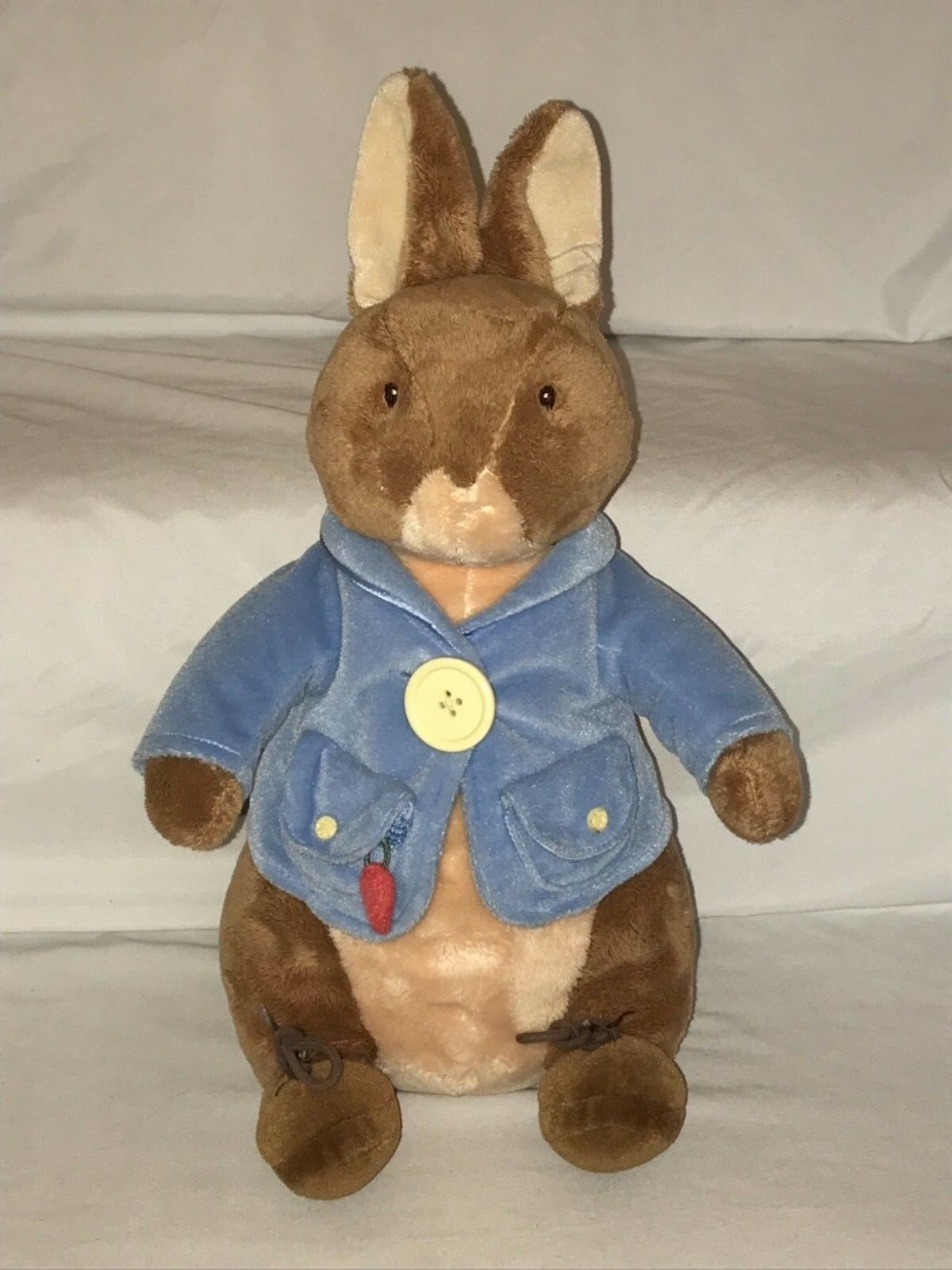 "Gund Peter Rabbit Plush Stuffed Animal The World Of Beatrix Potter 13"" 75919"