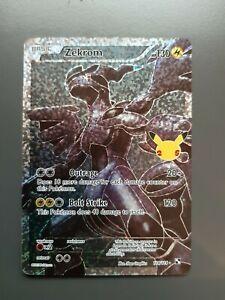 Zekrom Pokémon Celebrations 25th Anniversary