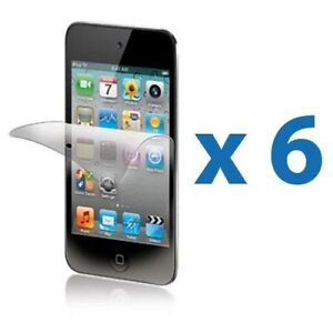 6-Clear-LCD-Screen-Protector-Cover-Shield-for-Apple-iPod-Touch-4-4g-4th-Gen