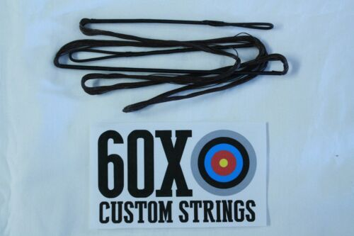 "35/"" 16 Strand Color Choice Dacron B50 Teardrop Compound Bow 60X Custom Strings"
