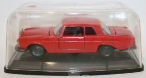 Vintage-Auto-Pilen-Joal-1-43-Scale-Diecast-Mercedes-250-Coupe-Red