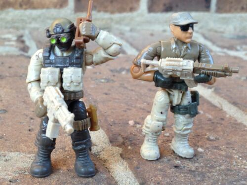 Mega Bloks 06825 Call of Duty Desert Troopers Figures Lot 49