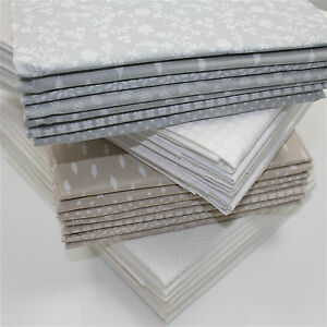 PARIS-TONE-on-TONE-100-COTTON-FABRIC-Ex-Wide-160cm-European-WHITE-GREY-CREAM