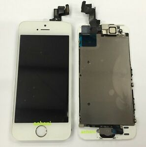 iphone 5s home button replacement white lcd replacement assembly touch screen for iphone 5s 4265