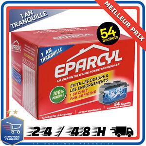 EPARCYL-Entretien-Fosses-Septiques-54-Sachets-Mauvaises-Odeurs-Engorgements-1an
