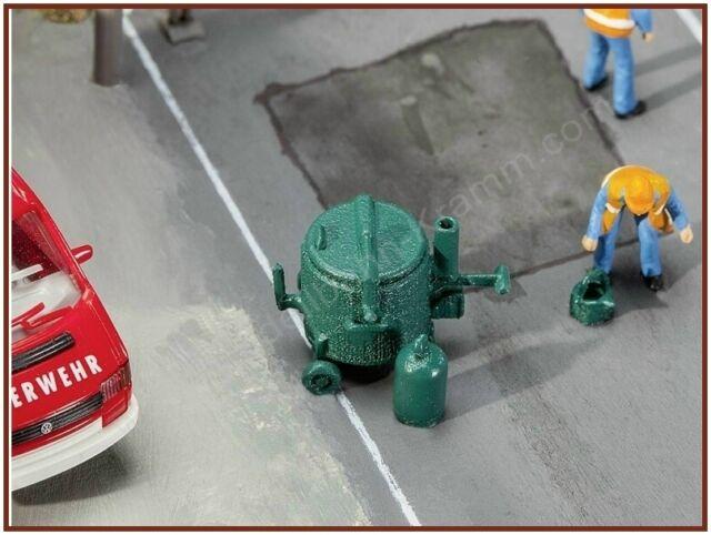 FALLER HO scale ~ 'TAR BOILER' ~ plastic model kitset #180382