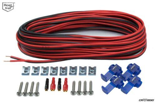 Ford ka a partir de 09 altavoces Pioneer boxeo 165mm componentes front//Heck