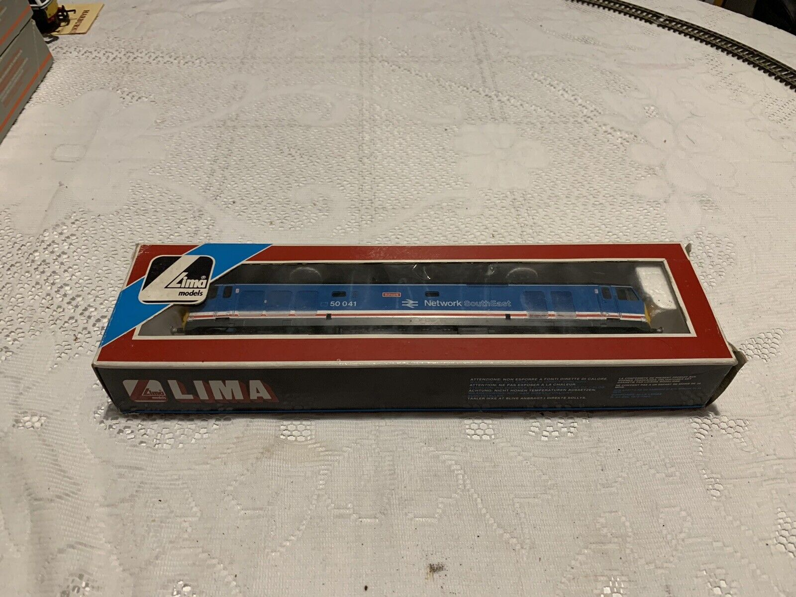 Lima 50041 'Bulwark' in Rev NSE bright azul ex-set (L104312) in excellent cond