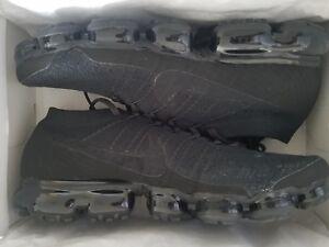 dfc468443b68 Nike Air VaporMax Flyknit Men s Running Shoes Sneakers Triple Black ...