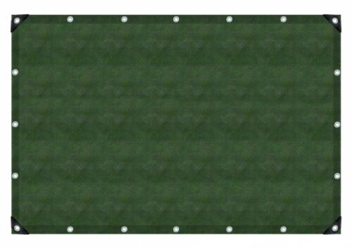 Pe-Gewebeplane 90 Olivgrün Grün 8 x 12 m 91242 Gewebe Plane Gewebeplane