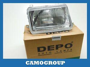 Front Headlight Right Front Right Headlight Depo For SEAT Ibiza 84 93