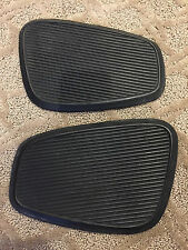 Honda CA77 Dream 305 Original Fuel Tank Rubber Knee Pad Turtle Pair