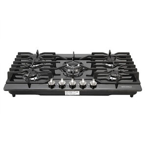 Branded-30-034-Built-in-Cooktop-5-Burners-Stove-LPG-NG-Gas-Hob-Cooker-Black-Titanium