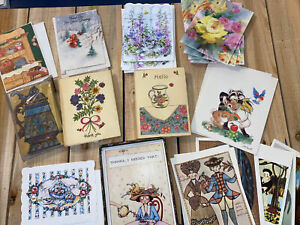 Vintage-Stationary-amp-Cards-Thank-You-Cards-And-Notecards