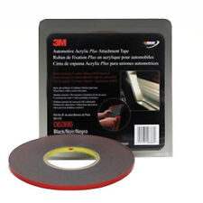 "3M 6386 Automotive Acrylic Plus Double Sided Auto Body Attachment Trim Tape 1/4"""